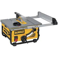 Dewalt 10 In 15 Amp Compact Job Site Table Saw With 20 In Rip Capacity Lowe S Canada
