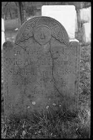 Gravestone of Abigail Harris (1802), Torringford Cemetery ...