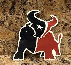 Free Shipping Houston Texans Nfl Football Color Logo Sports Decal Sticker