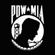 Amazon Com Pow Mia Vinyl Car Window Decal Sticker White Automotive