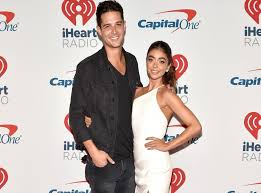Sarah Hyland sparks controversy with photo of Wells Adams grabbing her  chest | The Independent | Independent