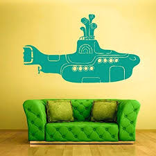 Amazon Com Home Decor Submarine Wall Decal Submarine Wall Decor Submarine Wall Sticker Submarine Wall Art Home Kitchen