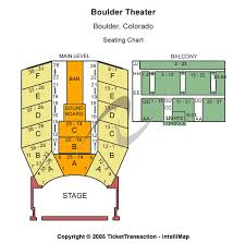 boulder theater seating charts