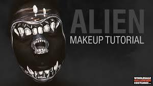 xenomorph alien makeup tutorial