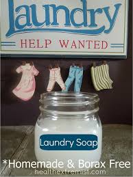 homemade laundry soap recipe borax