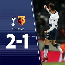 Tottenham Hotspur 2-1 Watford Full Highlight Video – Premier ...