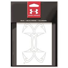 Under Armour Fish Hook Logo 5 5 Decal Walmart Com Walmart Com