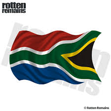 South Africa Waving Flag Decal African Car Truck Vinyl Sticker Lh Rotten Remains High Quality Stickers Decals