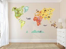 World Maps Walls2lifedecals