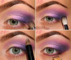 lilac purple smokey eye makeup tutorial