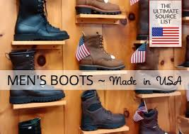 top 15 best work boots made in usa in