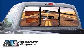 Vehicle Graphics Rear Window Graphics Road Hunter Custom Truck Or Suv Rear Window Graphic By Adventure Graphics