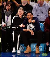 Ellen Pompeo & Husband Chris Ivery Sit ...