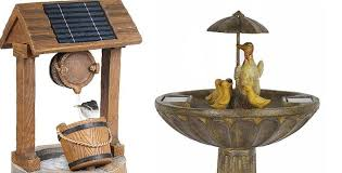 top 6 solar powered water features for