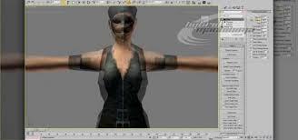 garment maker in 3d studio max to model