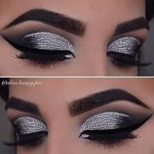 silver smokey makeup saubhaya makeup