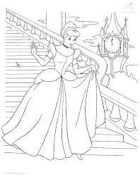 Kleurplaat Fantasie Prinses Kleurplaat Prinses