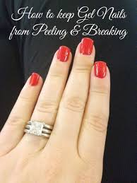 gel nails from ling and breaking