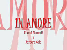 In amore - Gianni morandi e Barbara cola - video dailymotion