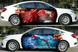 Batman Catwoman Car Door Body Graphics Vinyl Sticker Decal Both Side