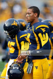Wes Lyons of the West Virginia Mountaineers looks on against the... News  Photo - Getty Images
