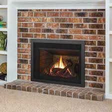 what is a ventless gas fireplace