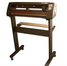High Speed Vinyl Sticker Cutter Vinyl Cutter Plotter With Steel Axis