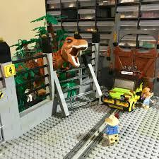Jurassic Park Diorama That I Ve Built For My Little Brother Jurassicpark