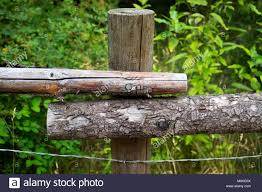 Fence Post Bark High Resolution Stock Photography And Images Alamy