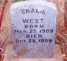 Gracie West (1908-1908) - Find A Grave Memorial