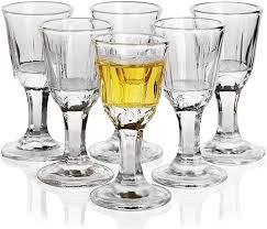 10ml unique mini wine shot glasses