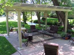 freestanding pergola with images