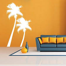 Beach Palm Trees Wall Decal Trendy Wall Designs