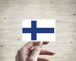 Finland Flag Decal Etsy