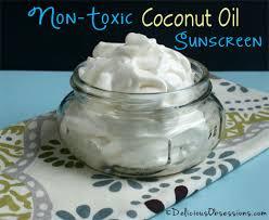 non toxic coconut oil sunscreen recipe