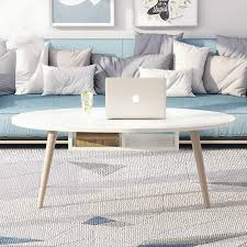 solid wood nordic coffee table small