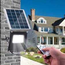 20w 20 led solar flood light waterproof