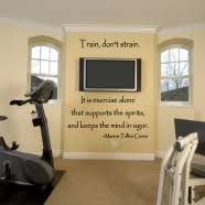 Workout Quotes Wall Decals For Gym Fitness Center Exercise Room Or Yoga Studios