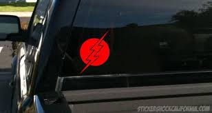 Buy The Flash Red Vinyl Window Decal Sticker Motorcycle In Fillmore California Us For Us 5 00