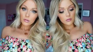 everyday spring makeup tutorial 2016