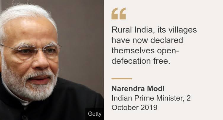 """Image result for India's toilets: Report questions claims that rural areas are free from open defecation"""""""