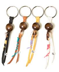 drifter leather keychain the