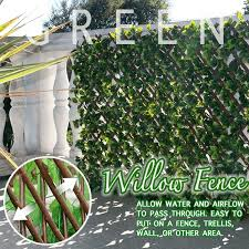 Retractable Privacy Garden Fence Flareplanet
