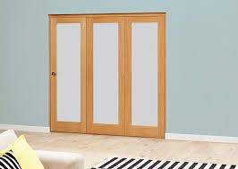 bifold doors with frosted glass