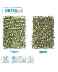 Faux Ivy Privacy Fence Screen Expand Retractable Panel Artificial Leaf Vine Hedge Outdoor Garden Backyard Decoration Cover At Patio Paradise