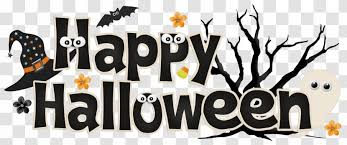 Halloween October 31 Trick Or Treating Party Clip Art Cute Cliparts Transparent Png