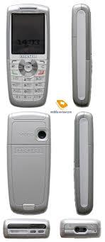 Review GSM phone Alcatel OT 757