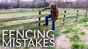 Fencing Mistakes Board Fence Youtube
