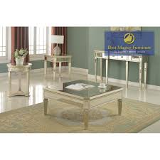 t1830 mirrored coffee table set best