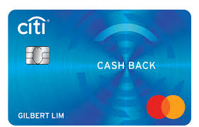 citi cash back card credit card with